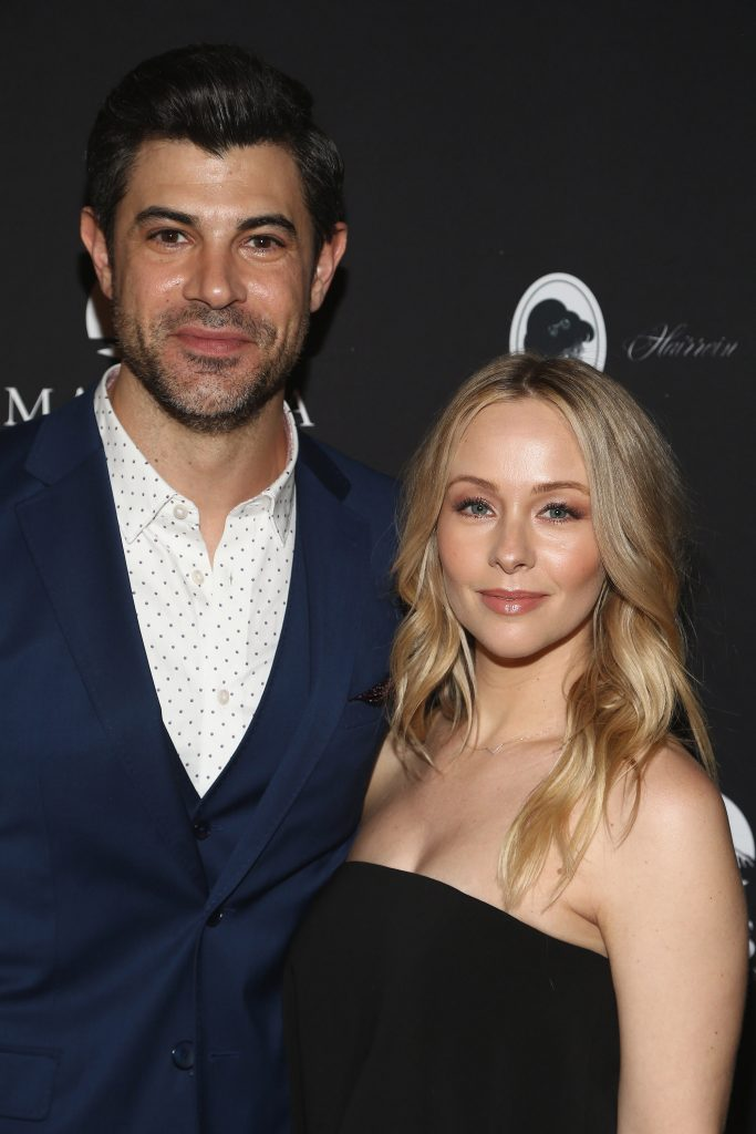 Damon Dayoub and Emily Montague attend the Red Carpet screening of 'Vows of Deceit' by The Ninth House and MarVista Entertainment