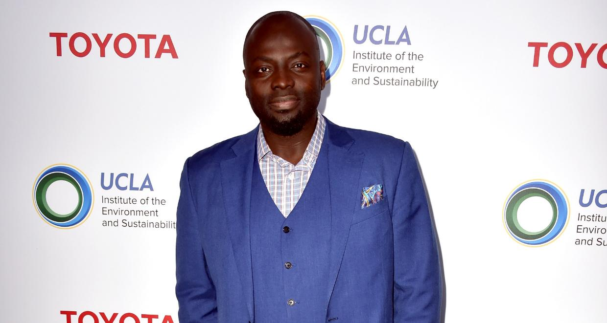 Dr. Michael Obeng at UCLA Institute of the Environment and Sustainability celebrates Innovators For A Healthy Planet