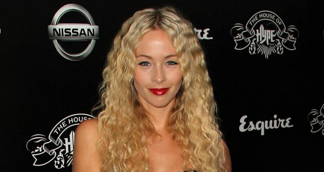 Emily Montague attends the House of Hype's 2011 MTV Video Music Awards After Party at the SLS Hotel