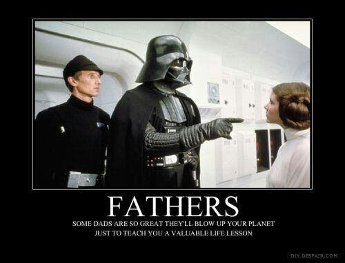 Father_s Day: Darth Vader meme