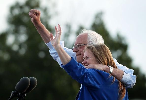 Jane O'Meara Sanders & Bernie Sanders