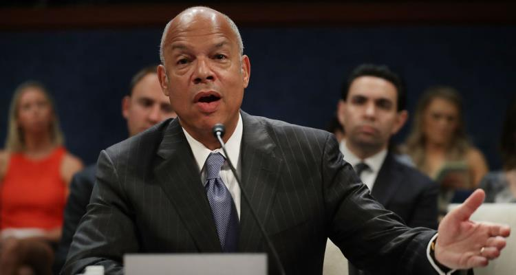 Trump on Jeh Johnson testimony