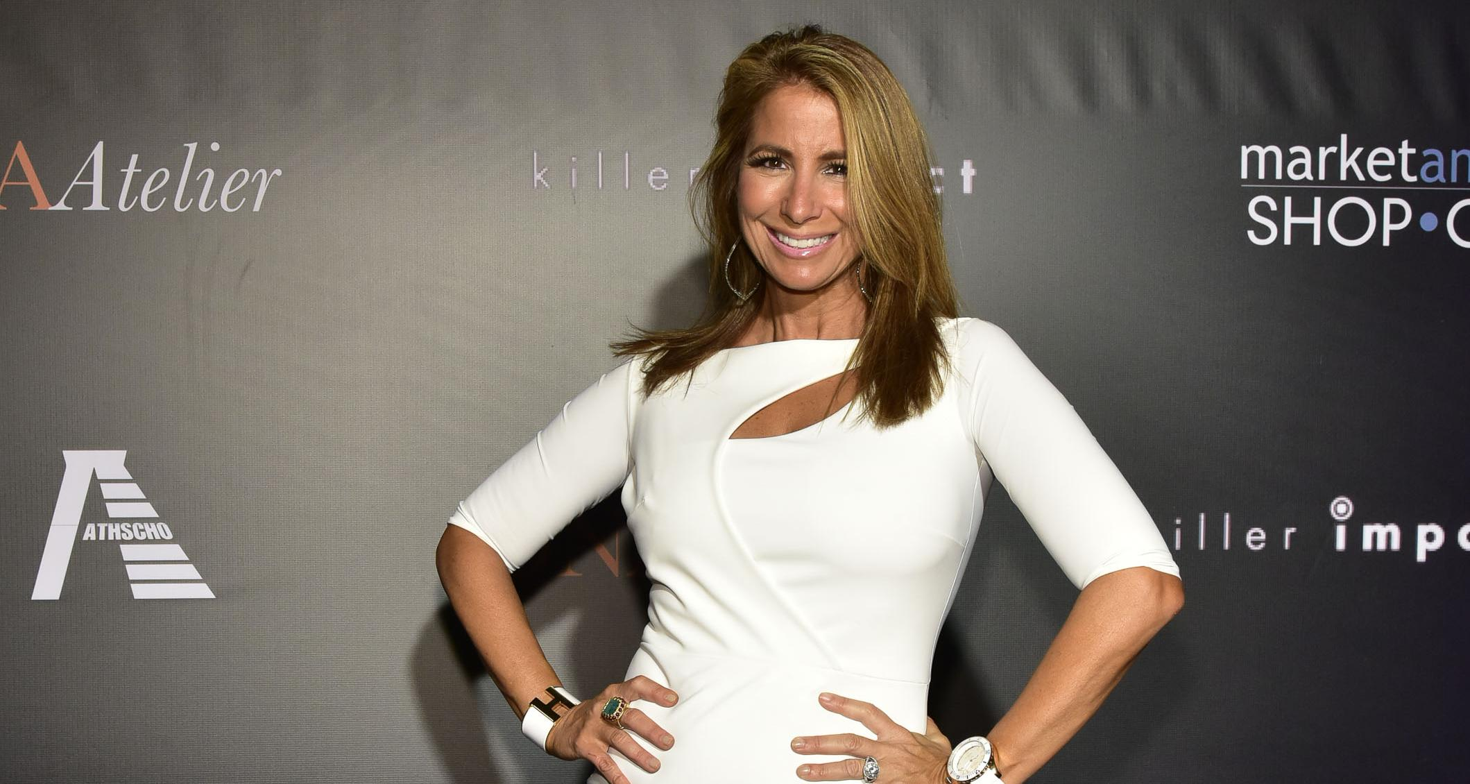 Jill Zarin attends the Shop.com & DNA Atelier Present The Best Of CJ Hendry at an Exclusive Art Exhibition