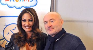 Orianne Collins and Phil Collins