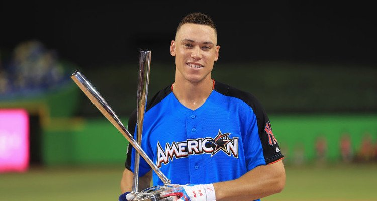 Home Run Derby showdown between Stanton, Judge, and 6 others