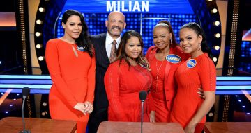 "Christina Milian ""Celebrity Family Feud"""