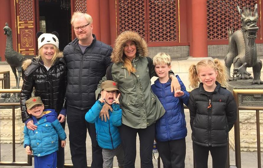 Jeannie Gaffigan With Husband and Kids