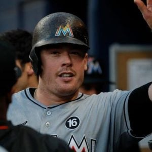 justin bour wiki are the miami marlins trading him