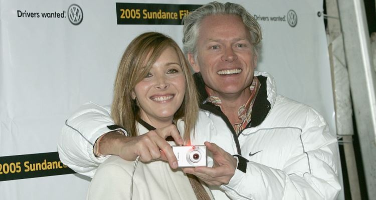 Lisa Kudrow and Michael Stern