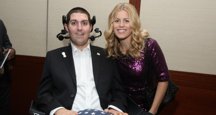 Pete Frates and Julie Frates