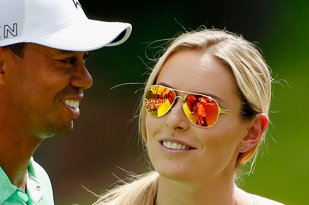 Tiger Woods and Vonn
