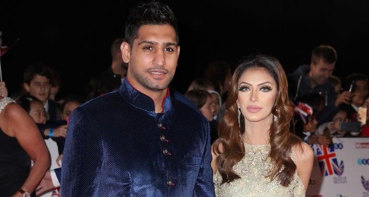 Amir Khan and Faryal Makhdoom