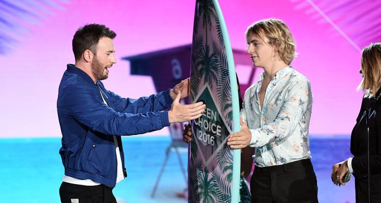 Chris Evans, Teen Choice Awards 2016