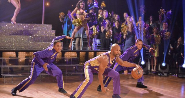 Derek Fisher DWTS