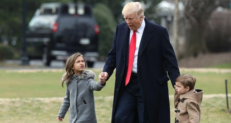 Donald Trump & Grandchildren
