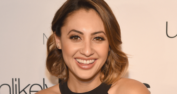 Francia Raisa chris adkins