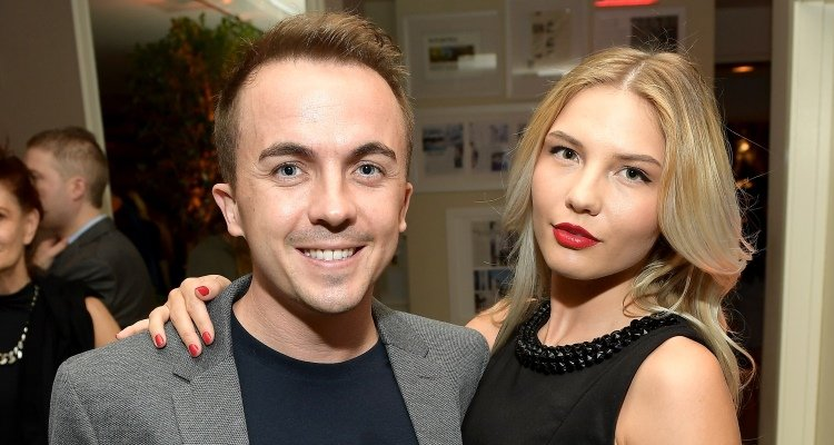 Frankie Muniz and girlfriend Paige Price