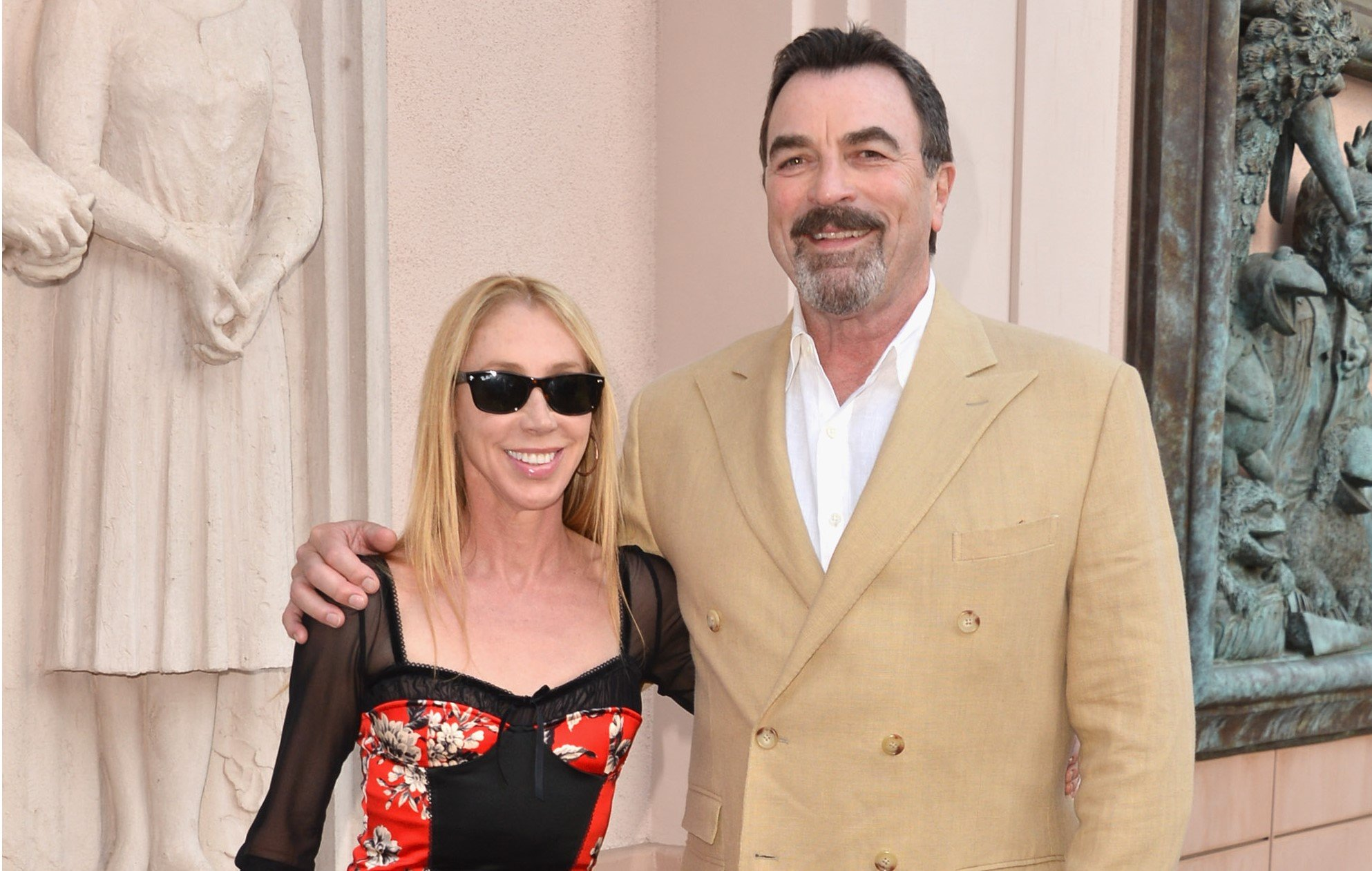 Jillie Mack & Tom Selleck