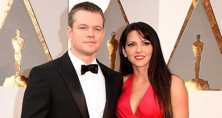Matt and Luciana Damon
