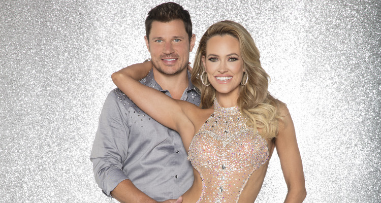 Nick Lachey and Peta Murgatroyd on Dancing with the Stars