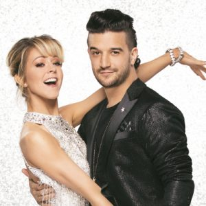 lindsey stirling and mark ballas on dancing with the stars 2017
