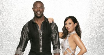 Terrell Owens and Cheryl Burke performance