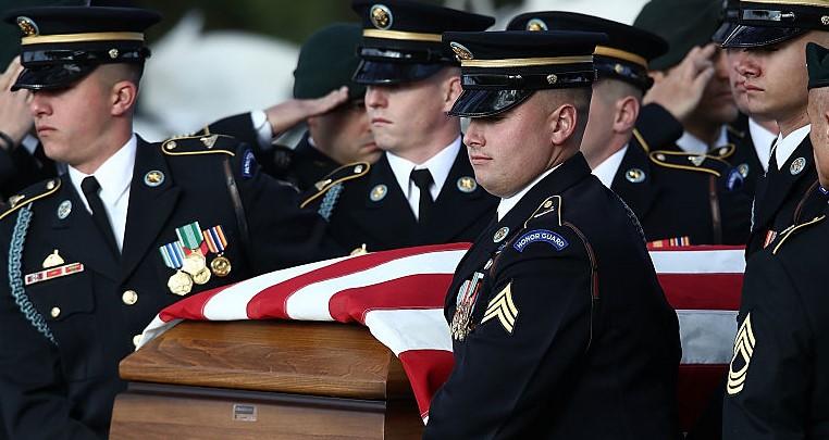 American Military Burial
