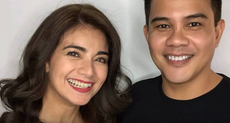 Arnel Cowley and Isabel Granada