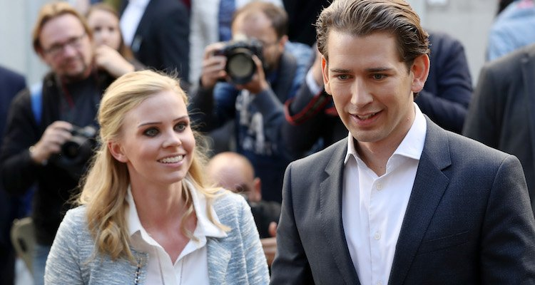 Sebastian Kurz and Susanne Thier