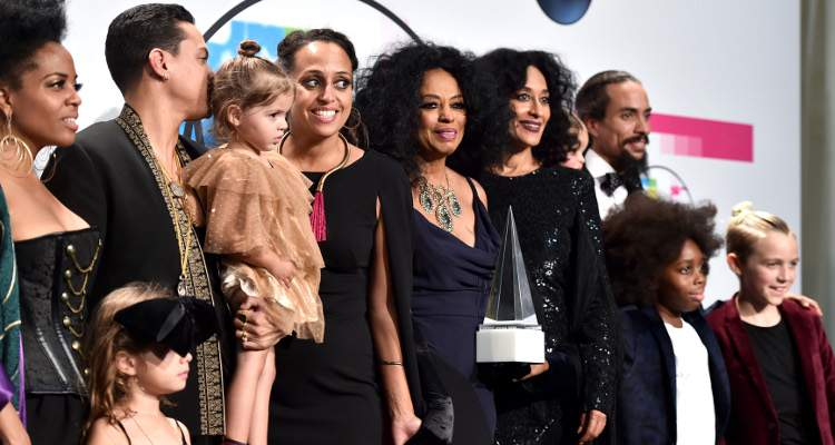 Diana Ross' family