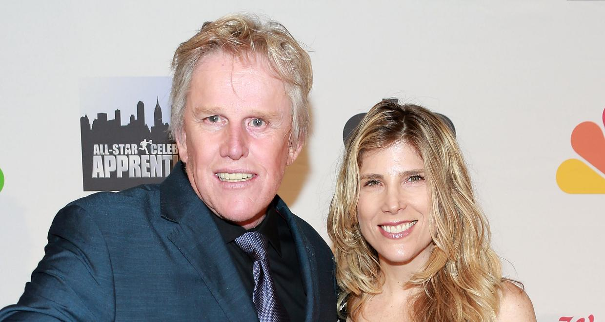Gary Busey (L) and Steffanie Sampson attend 'All Star Celebrity Apprentice' Finale at Cipriani 42nd Street