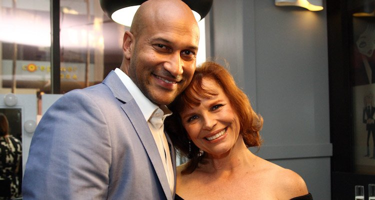 Keegan Michael Key and Cynthia Blaise