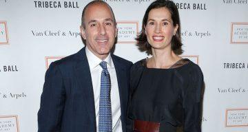 Matt Lauer and Annette Lauer