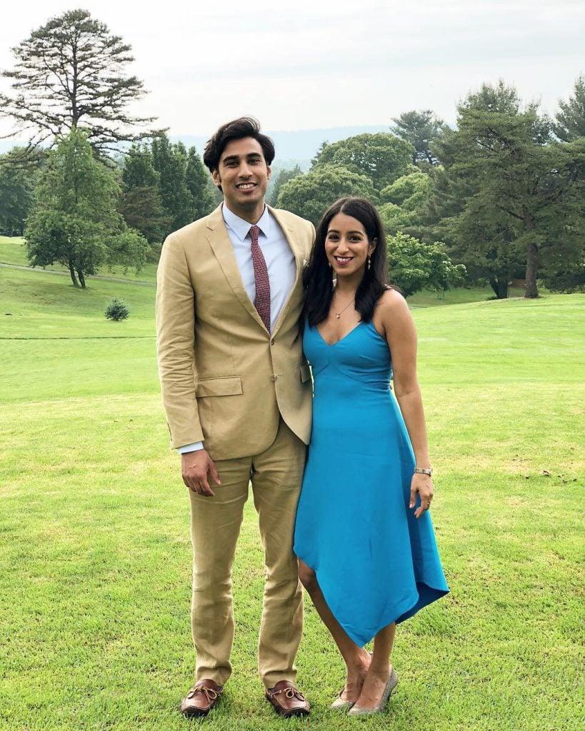 Sabrina Siddiqui with her boyfriend, Ali Jafar