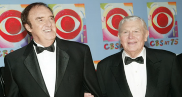 Stan Cadwallader (Right) with Husband, Jim Nabors(Left)