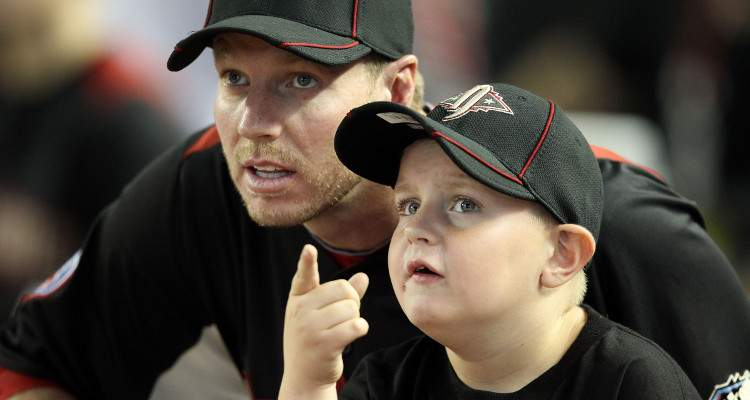 roy halladay family