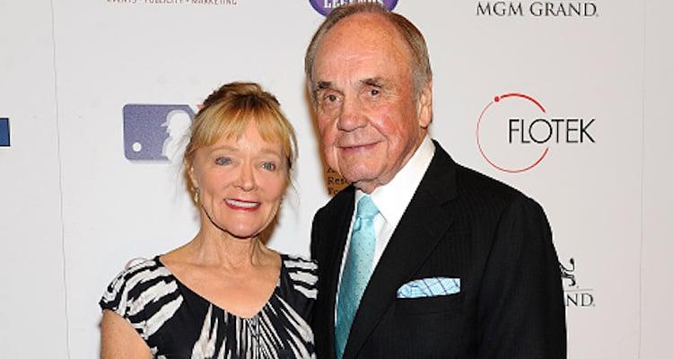 Barbara Hedbring and Dick Enberg