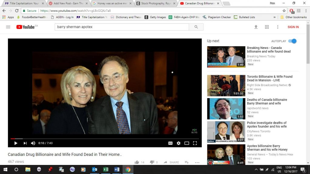 Barry Sherman's Children: Facts to Know about Barry