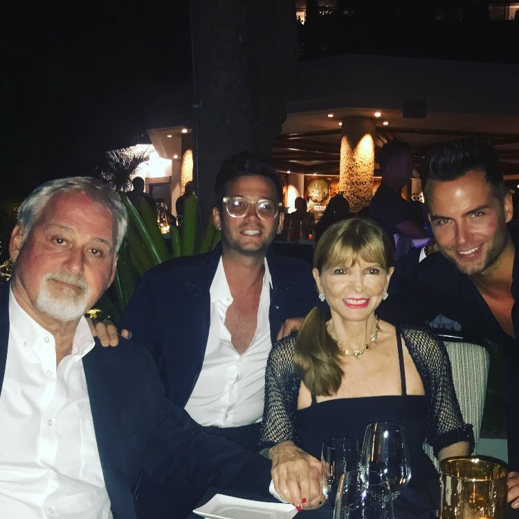 Bobby Boyd with Josh Flagg and his mom-dad
