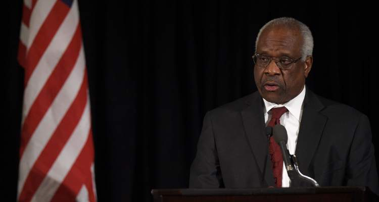 Clarence Thomas today