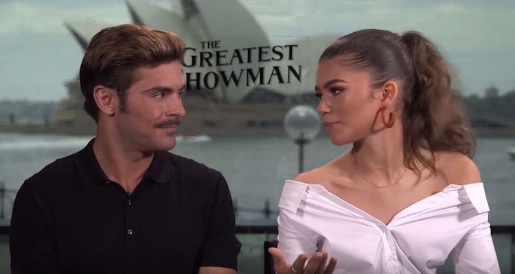 Zendaya and Zac Efron