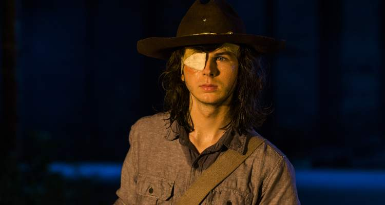 carl grimes death