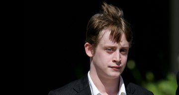 Actor Macaulay Culkin