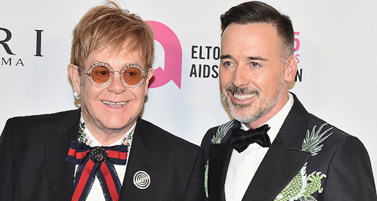 David Furnish Elton John