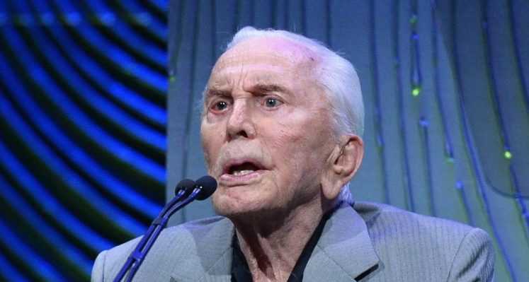 What Happened to Kirk Douglas' Face?