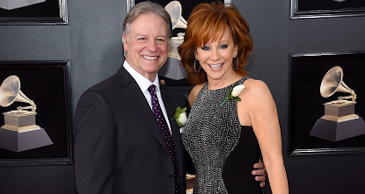 Reba McEntire and Anthony Lasuzzo