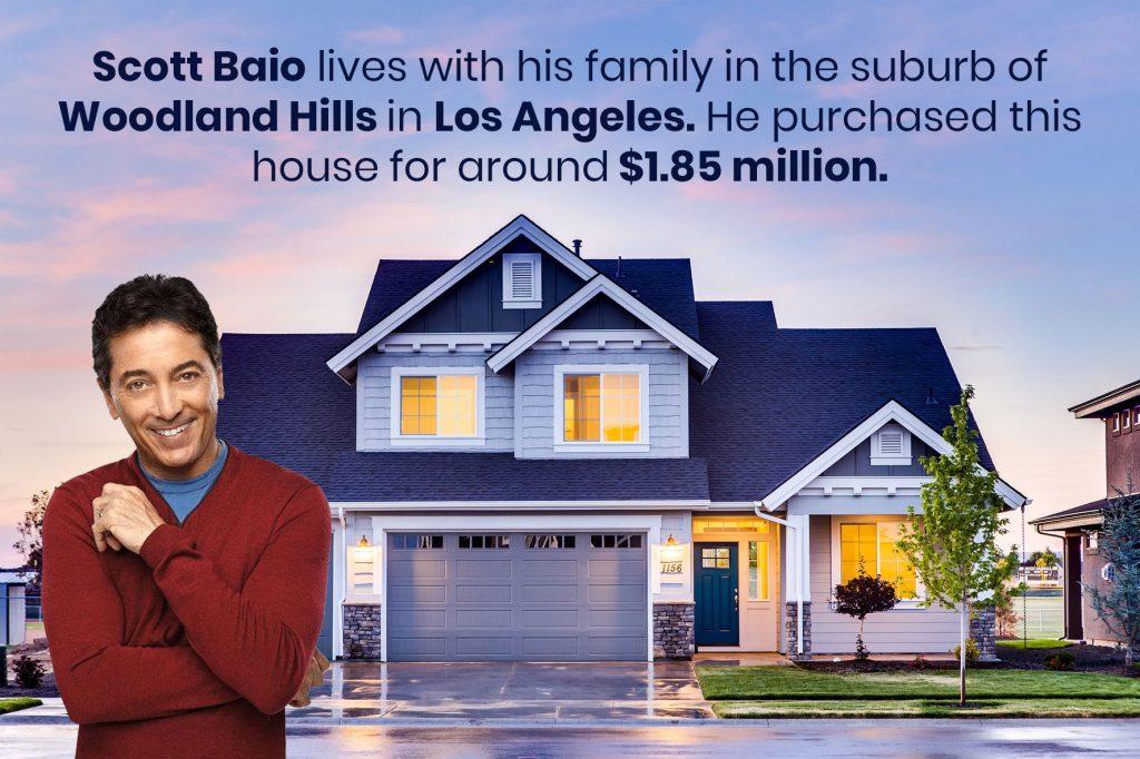 Scott Baio purchased house for around $1.85 million