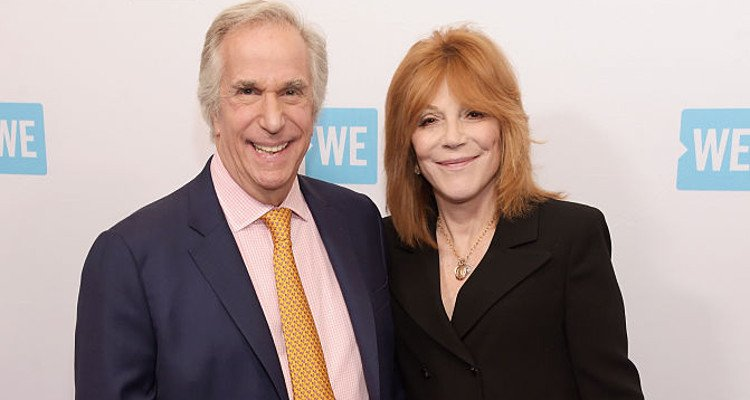 Henry Winkler with gracious, Wife Stacey Weitzman