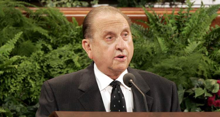 Thomas Monson Wife
