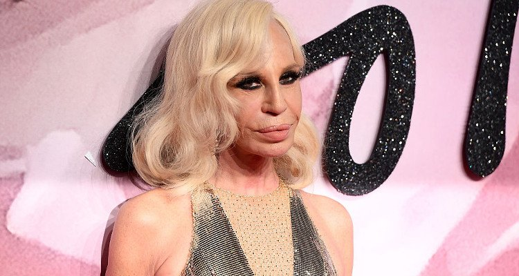 Donatella Versace Before & After